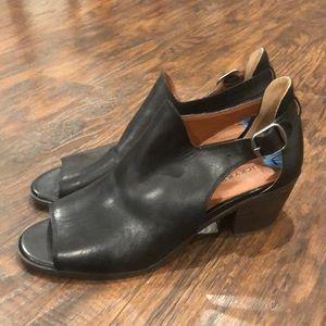 Black Lucky Brand Block Heels